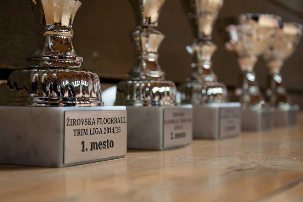 Pokali za zmagovalce